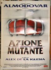 manifesto 2F film ACCION MUTANTE Alex De La Iglesia Pedro Almodovar 1995