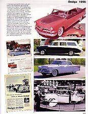 1956 Dodge Royal + Le Femme + Article - Must See !! Custom Royal Lancer + Wagon
