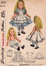 Patrones de muñeca