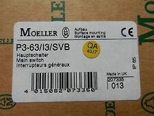 Klöckner Moeller / Hauptschalter / Typ: P3-63/I3/SVB  NEU/OVP