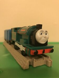 THOMAS Train Trackmaster Motorized Peter Sam and Boxcar