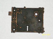 """Antique RLCo Rim Lock 4 5/16"""" x 3 1/2"""""""