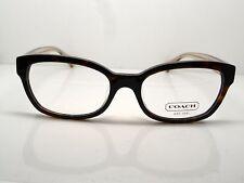 NEW Authentic COACH HC 6042F Hadley 5120 Dark Tortoise 52mm RX Eyeglasses