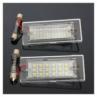 Pair Error Free LED Number License Plate Lights Lamp For BMW X5 E53 X3 E83 Z3K1