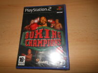 Boxing Champions Sony PlayStation  2 , ps2 NEW SEALED pal