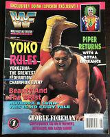 WWF Magazine August 1994 Yokozuna Cover Pro Wrestling WWE 105