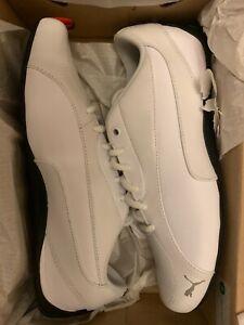 Puma Drift CAT 5 Core White Leather Men's Size 9  362416-03