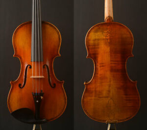 Maggini style!Double purfling! An Artistic T20+ violin Good Projection,Loud open