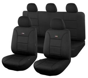 TM Sharkskin Ultimate Neoprene Seat Covers for TOYOTA HILUX 04/2005-06/2015 BLAC