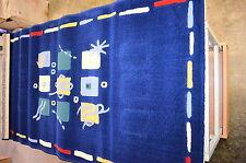 Teppich In Design Blues 80x150 cm Dessin 2018 100% Polypropylen