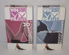 Winsor Pilates 20 minutes Workout & Accelerated Body Sculpting 2002 Guthy-Renker