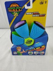 PHLAT BALL JR.Throw A Disc Catch a Ball Goliath Sports Waterproof FUN Blue/green