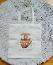 CHANEL VIP Gift 'Ask for the Moon' Canvas Tote