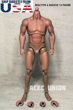 1/6 Emulated Muscular Body GangHood For Arnold Wolverine HotToys U.S.A. IN STOCK
