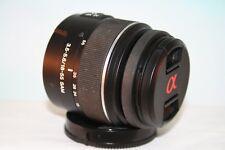 Sony SAL DT 18-55mm f/3.5-5.6 SAM Lens for Sony Alpha SLR Camera~Very Nice!!