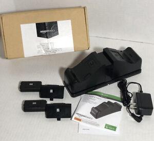 Amazon Basics Xbox One Dual Charging Station Battery Packs, Power Adapter, LED