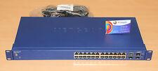 NETGEAR GS724TS – 24 Port Gigabit Smart Switch 6MthWty TaxInv