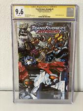 Transformers Armada #1 CGC 9.6 WHITE PAGES Signature Series James Raiz DW