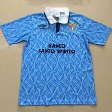 More details for lazio retro football shirt home large