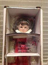 "JANUARY GARNET Diamond Doll Designs Beverly Stoehr 14"" Porcelain Birthstone LE"