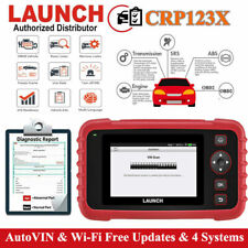 2019NEW LAUNCH X431 CRP123X OBD2 Car Scanner Automotive Diagnostic Tool 4 System