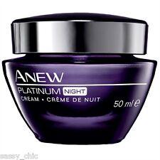 AVON Anew Platinum Night Cream 50ml Anti ageing New & boxed (61)