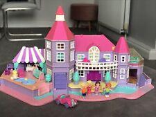 Vintage Polly Pocket 1994 Light Up Magical Mansion With Original Figures