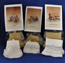 Rubber Latex Moulds for Miniature Cottages