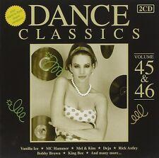 DANCE CLASSICS 45 & 46 2 CD NEU MC HAMMER/NICOLE/RICK ASTLEY/VANILLA ICE/+