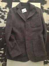 Giacca Mauro Grifoni taglia 48 lana cotone marrone scuro