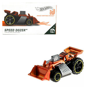 Hot Wheels id Speed Dozer Kids Diecast Limited Collectible Toy Car App Game 8+