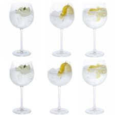 Dartington Crystal Gin and Tonic Copa Set Six Party Time Glasses - 610ml