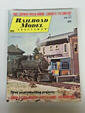 Vtg. Large Lot of Railroad Model Craftsman Magazines 10 Issues 1973 to 1974