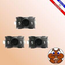 3x Microtaster Mikroschalter für OPEL Fernbedienung Taster Schlüssel Mikrotaster