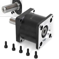 TOP! Nema23 Planetary Geared 57MM Stepper Motor Gearbox Ratio 5:1 CNC Reducer