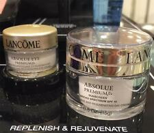 Set of Lancome ABSOLUE PREMIUM ßx -- Day Cream 0.5oz/15g + Eye Cream .2oz/6g