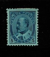 Canada SC# 91, Mint Hinged, 40% Page Remnant, light gum crease - S2644