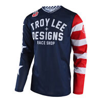 2018 Troy Lee Designs TLD GP Yamaha RS1 Jersey Blue Off Road Moto ATV 3076453