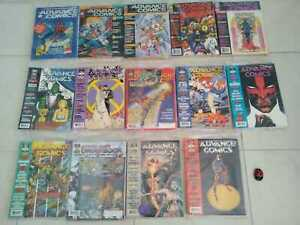ADVANCE COMICS PREVIEW MAGAZINE LOT 14 issues  1992-95 Sealed