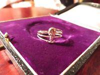 Super Süßer 925 Silber Ring Tweety Vogel Sterling Figur Zierlich Wie Disney