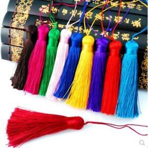 V14 (1,10 pcs) 8cm Long tassel Material (use for earring bookmark runner dress)
