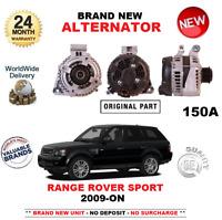 Para Range Deporte de Rover 3.0 Td 4x4 2009- > Alternador Nuevo 150 y With 6 Rib