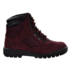 Timberland 6 Inch Little Kids (PS) Field Boots Burgundy tb0a1ato