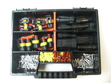 20 x Superseal Stecker Set  2 + 3-polig +Box Auto Motorrad Ducati,Moto Guzzi,Ktm