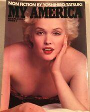 Rare Yoshihiro Tatsuki MY AMERICA Playboy Japanese Special Edition Photo Book