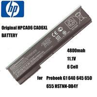 HP Laptop Battery CA06 CA06XL for Probook G1 640 645 650 655 HSTNN-DB4Y