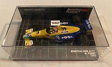 1:43 Minichamps Nelson Piquet Benetton Ford B191 1991