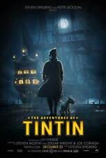 THE ADVENTURES OF TINTIN: THE SECRET OF THE UNICORN Movie Promo POSTER