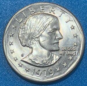 "1979 United States 1 Dollar ""Susan B. Anthony Dollar"" Coin"