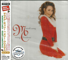 MARIAH CAREY Merry Christmas w/ BONUS TRK JAPAN PRESSING CD USA Seller MHCP 509